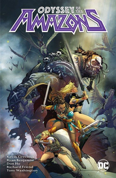 The Odyssey of the Amazons (TPB) (2017)