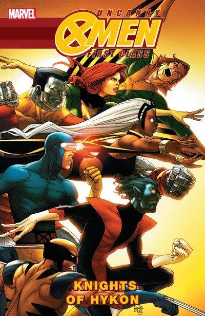 Uncanny X-Men – First Class – Knights of Hykon (TPB) (2010)