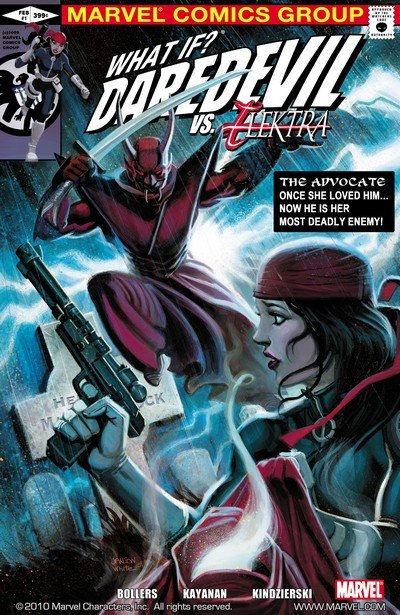What If – Daredevil vs. Elektra #1 (2010)