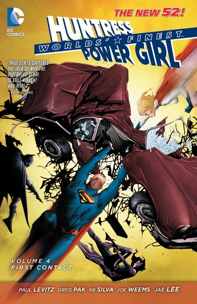 Worlds Finest Vol. 4 – First Contact (TPB) (2014)