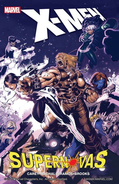 X-Men – Supernovas (TPB) (2008)