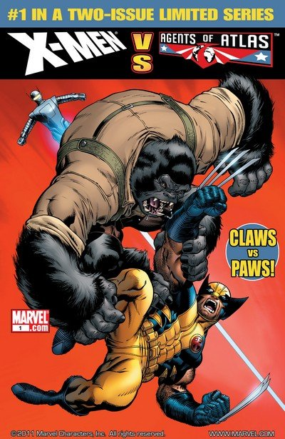 X-Men vs. Agents of Atlas #1 – 2 (2009)