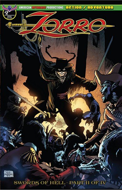 Zorro – Swords of Hell #2 (2018)