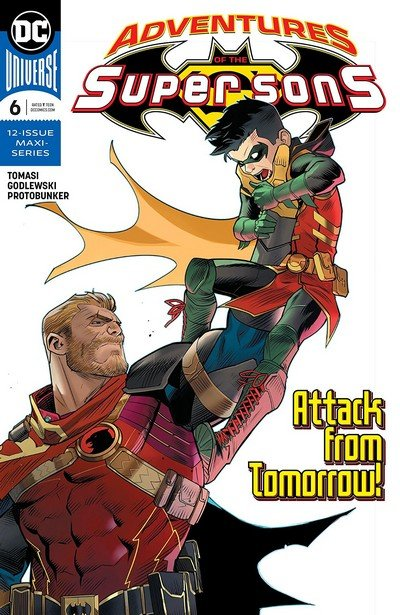 Adventures Of The Super Sons #6 (2019)
