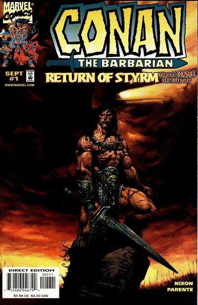 Conan – Return of Styrm #1 – 3 (1998)