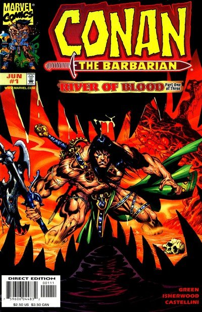 Conan – River of Blood #1 – 3 (1998)