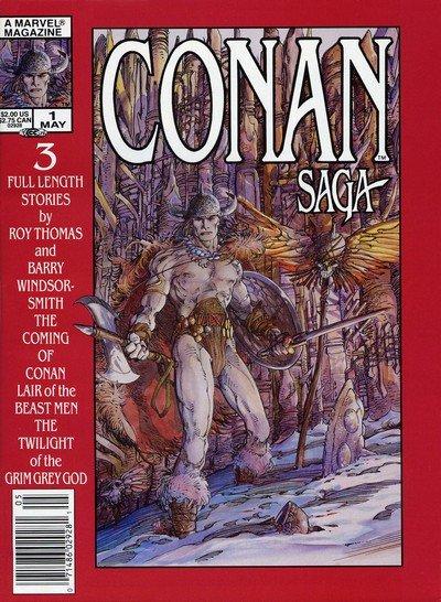 Conan Saga #1 – 97 (1987–1991)