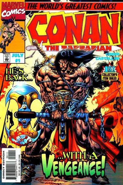 Conan – Stalker of the Woods #1 – 3 (1996)