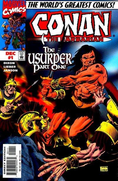 Conan – The Usurper #1 – 3 (1997-1998)