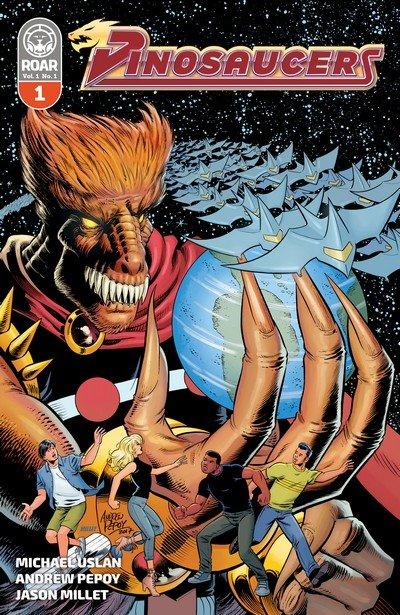 Dinosaucers #1 – 5 (2018-2019)