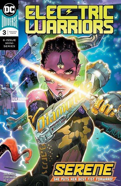Electric Warriors #3 (2019)