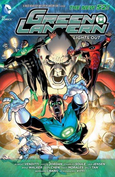 Green Lantern – Lights Out (TPB) (2014)