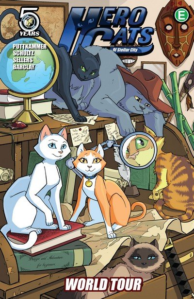 Hero Cats Vol. 4 – World Tour (TPB) (2016)
