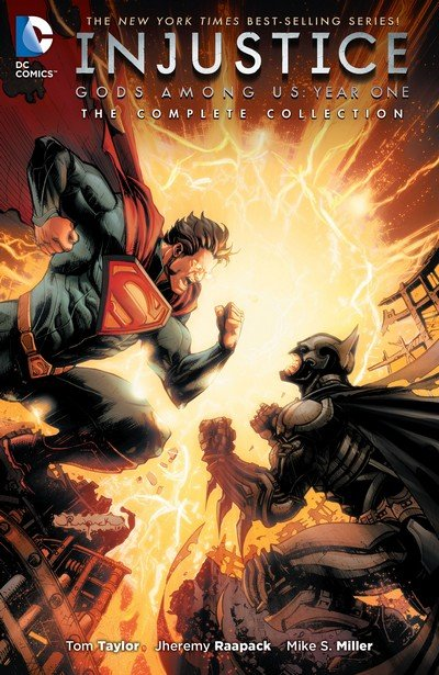 Injustice – Gods Among Us – Year One – The Complete Collection (2016)