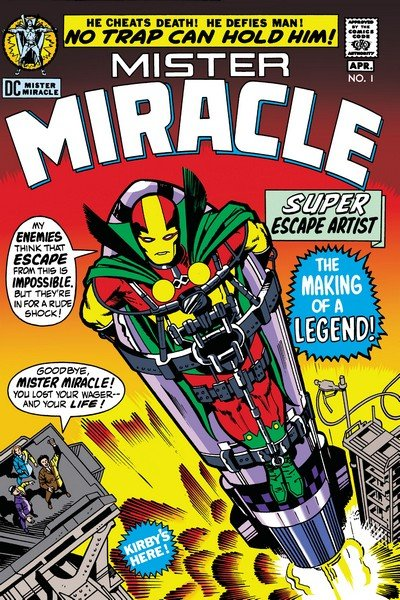 Mister Miracle Vol. 1 – 4 + Special (1971-2018)
