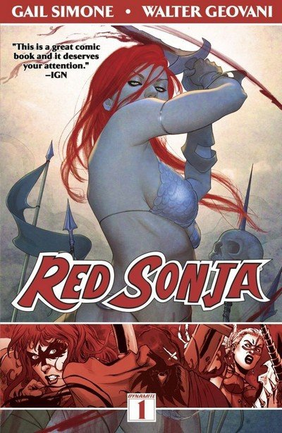 Red Sonja Vol. 1 – Queen of Plagues (TPB) (2014)