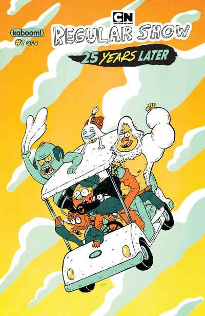 Regular Show – 25 Years Later #1 – 6 (2017-2018)