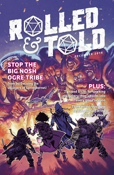 Rolled And Told #4 (2019)