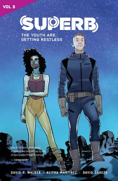 Superb Vol. 3 – The Youth are Getting Restless (TPB) (2019)