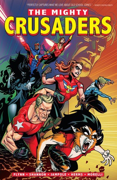 The Mighty Crusaders Vol. 1 (TPB) (2019)
