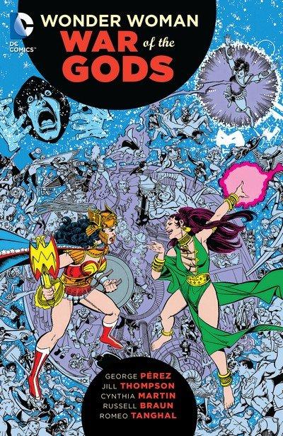 Wonder Woman – War of the Gods (TPB) (2016)