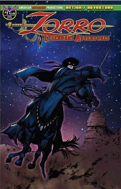 Zorro – Legendary Adventures #1 (2019)