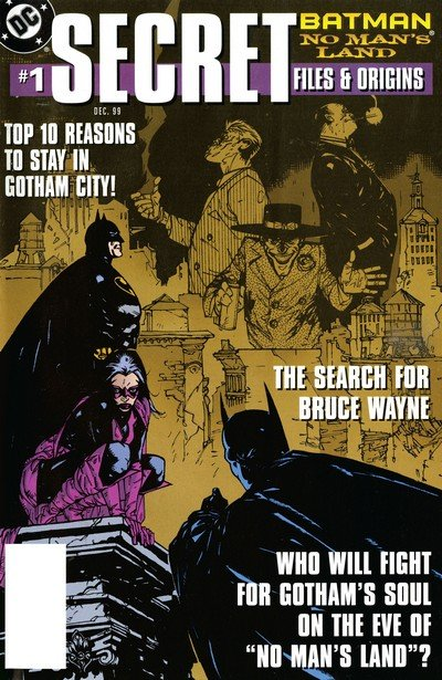 Batman – No Man's Land – Secret Files #1 (1999)