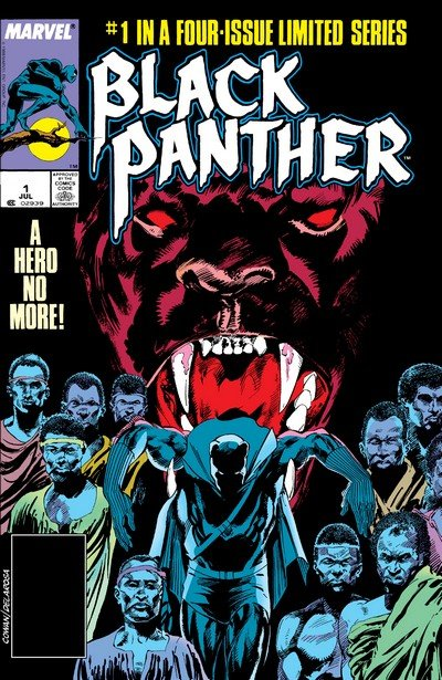 Black Panther Vol. 2 #1 – 4 (1988)