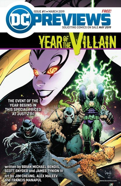 DC Previews #11 (Mar for May 2019)