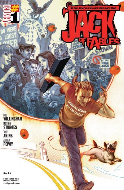 Jack Of Fables #1 – 50 + TPBs (2006-2011)