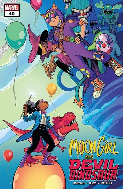 Moon Girl And Devil Dinosaur #40 (2019)