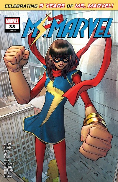 Ms. Marvel #38 (2019)