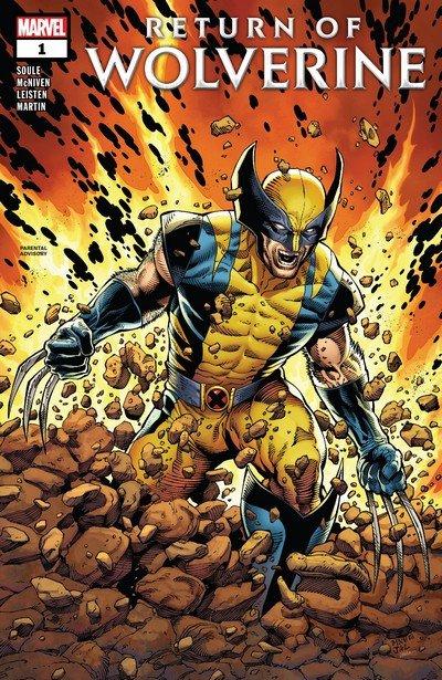 Return of Wolverine #1 – 5 (2018-2019)