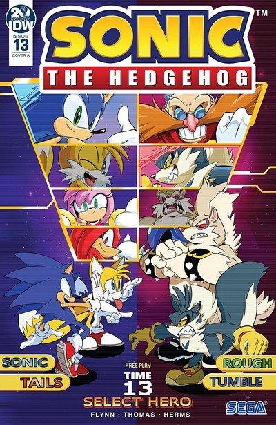 Sonic The Hedgehog #13 (2019)