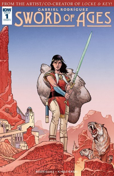 Sword of Ages #1 – 5 (2017-2018)
