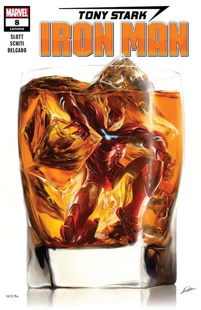 Tony Stark – Iron Man #8 (2019)