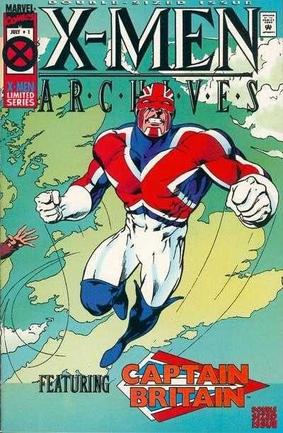 X-Men Archives Featuring Captain Britain #1 – 7 (1995-1996)
