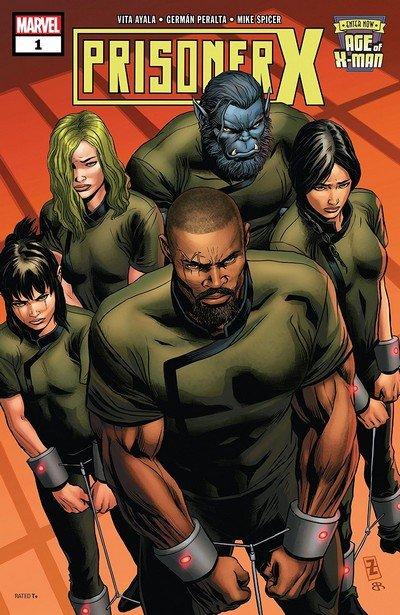 Age Of X-Man – Prisoner X #1 (2019)