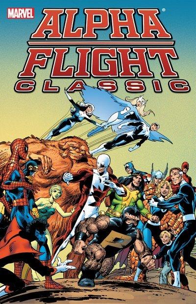 Alpha Flight Classic Vol. 1 – 3 (TPB) (2007-2012)