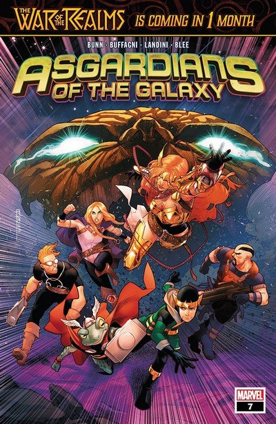 Asgardians Of The Galaxy #7 (2019)