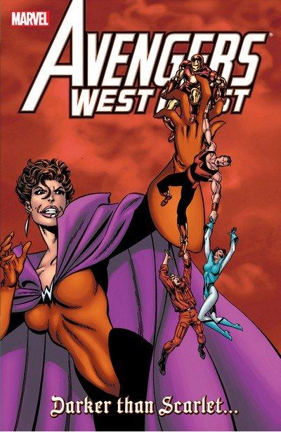 Avengers West Coast – Darker Than Scarlet (TPB) (2008)