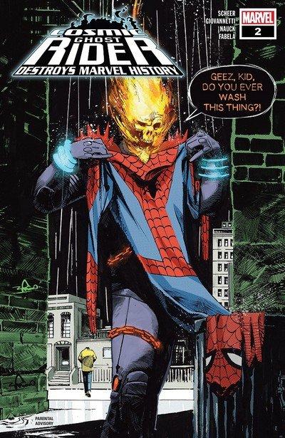Cosmic Ghost Rider Destroys Marvel History #2 (2019)