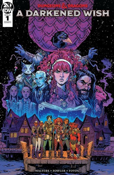 Dungeons And Dragons – A Darkened Wish #1 (2019)
