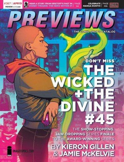 Previews #367 (April for June 2019)