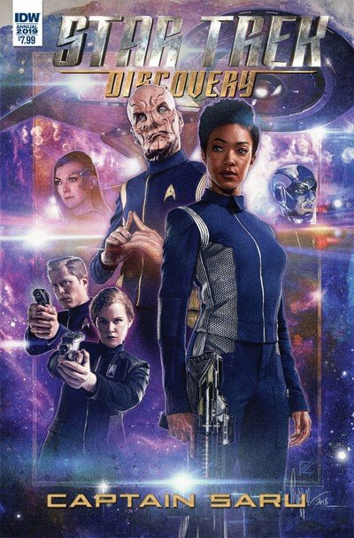 Star Trek – Discovery – Captain Saru (2019)