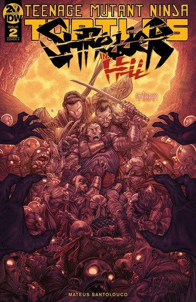 Teenage Mutant Ninja Turtles – Shredder In Hell #2 (2019)