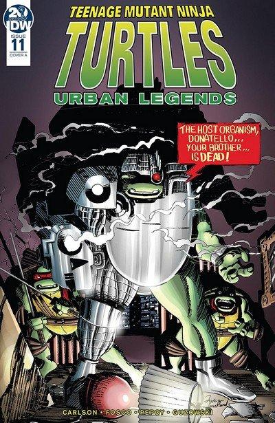 Teenage Mutant Ninja Turtles – Urban Legends #11 (2019)