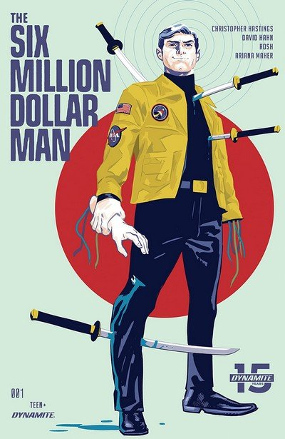 The Six Million Dollar Man #1 (2019)