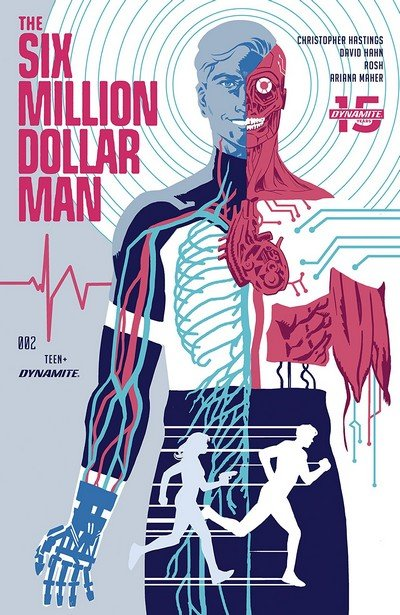 The Six Million Dollar Man #2 (2019)