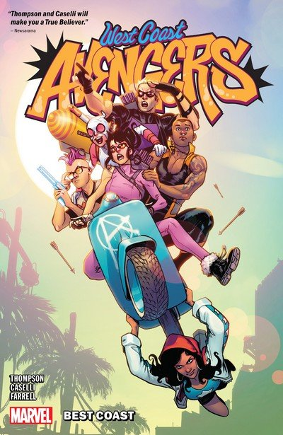West Coast Avengers Vol. 1 – Best Coast (TPB) (2019)